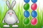 Collega le uova di Pasqua