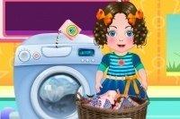 Daria lava i vestiti