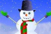 Decora il pupazzo di neve