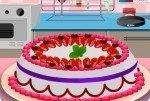 Prepara una torta alle fragole