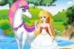 Principessa con cavallo