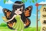 Ragazza farfalla