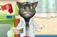 Tom fa la lavastoviglie